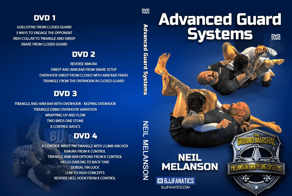 Best BJJ Closed guard Instructionals ADvanced guard Systems