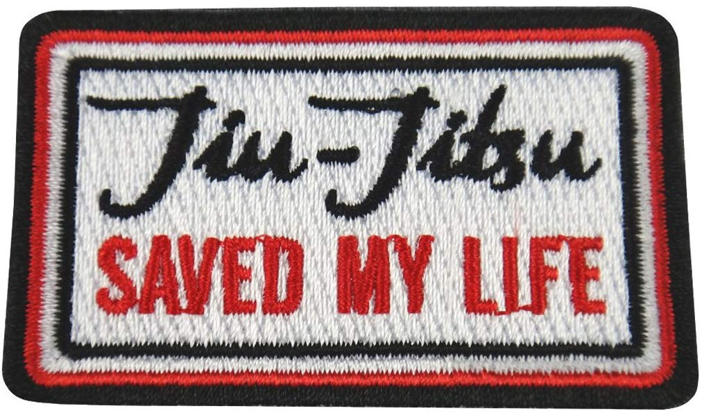 Best BJJ Gi Patches Jiu-Jitsu Saved My Life