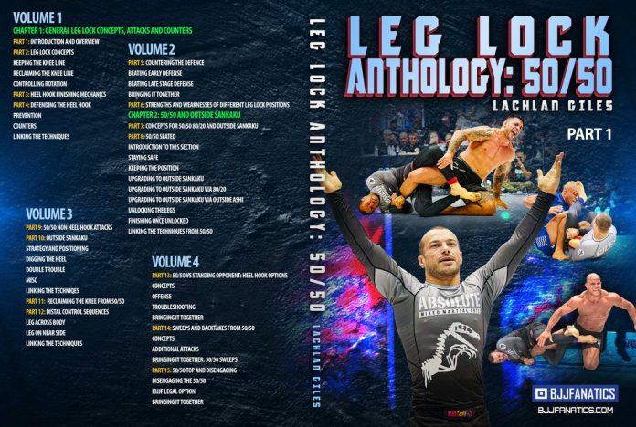 Lachlan Giles Leglocks DVD: Leg Lock Anthology 50/50 Review