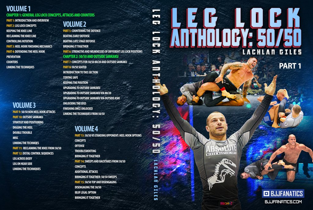 Lachlan LegLock Cover part 1 1024x1024 - Lachlan Giles Leglocks DVD: Leg Lock Anthology 50/50 Review