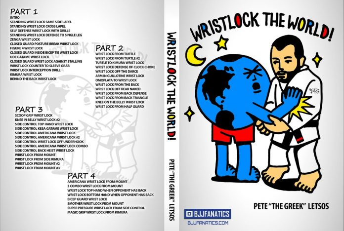 Wristlock The World - Pete The Greek DVD Review