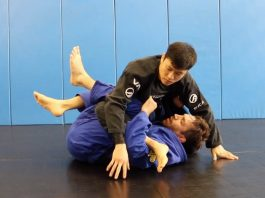BJJ Waiter Sweep Attack System
