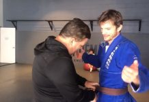 Ashton Kutcher BJJ Brown Belt