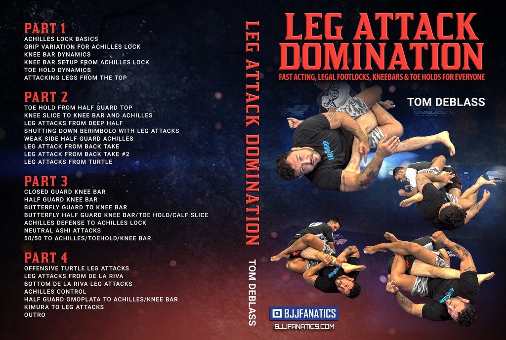 Tom DeBlass Cover 1024x1024 1024x689 - Tom DeBlass: Leg Attack Domination - DVD Instructional Review