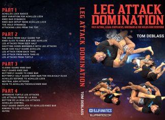 TomDeBlassDVD InstructionalReview: Leg Attack Domination