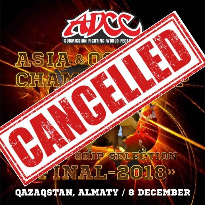 Cancelled ADCC ASIA OCEANIA TRIAL 2019 1024x1024 - Fight Canceled: 10 Unusal Reasons MMA & BJJ Fighters Pull Out