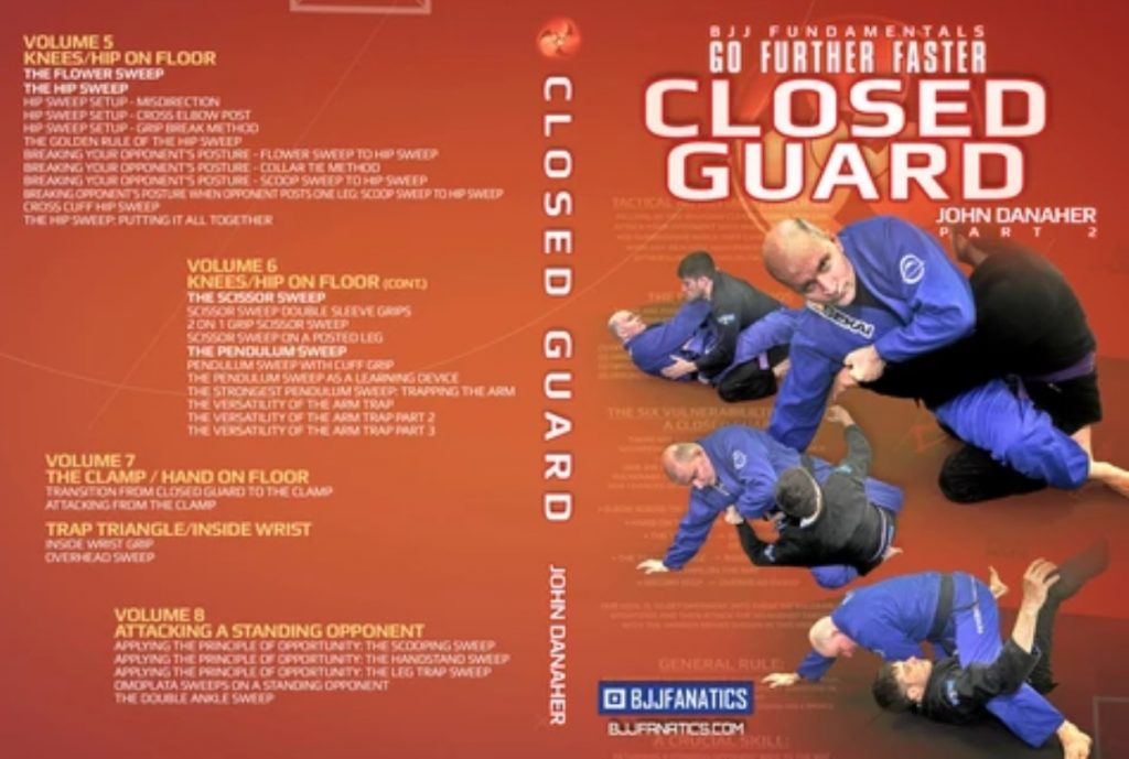 """John Danaher NEW Closed Guard DVD """"Go Further Faster"""" Review"""