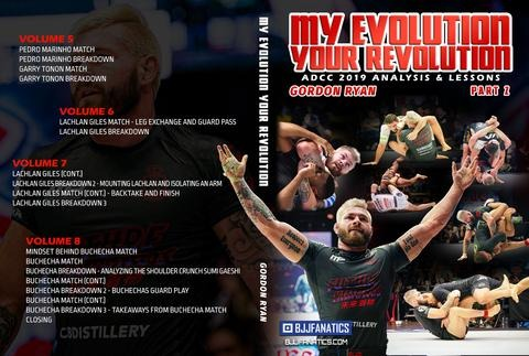 "Gordon Ryan Cover updated part 2 480x480 - ""My Evolution Your Revolution"" Gordon ""King"" Ryan DVD"