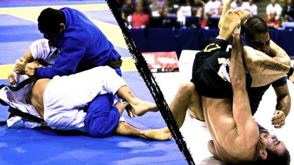 gi vs no gi 1024x576 - BJJ No-Gi Manual: Grappling At A Faster Pace
