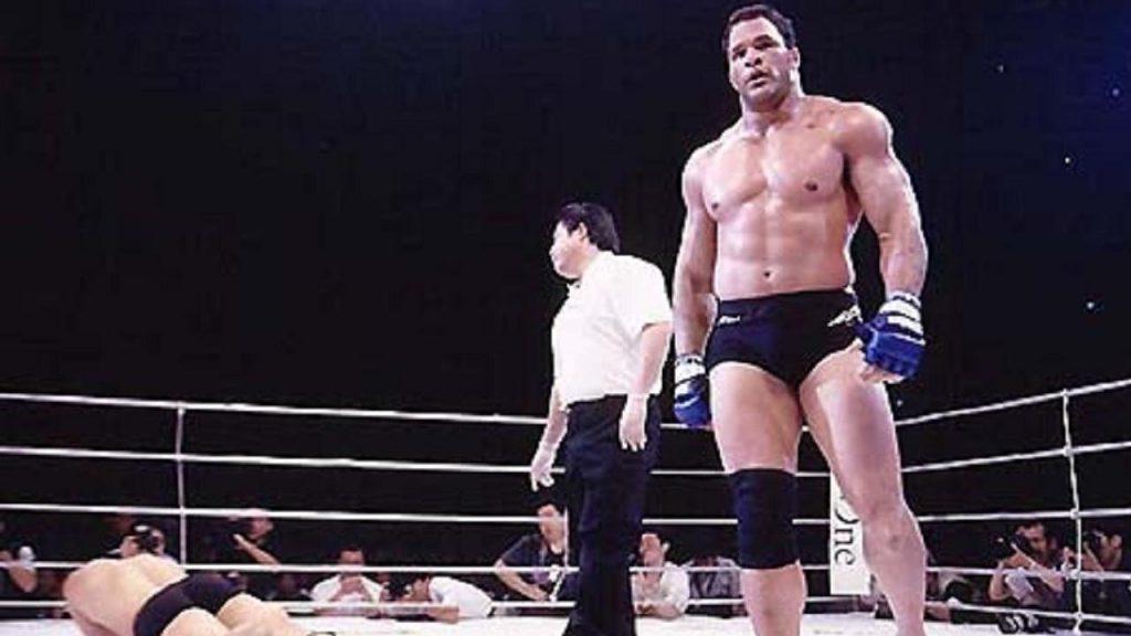 Merk Kerr MMA Movie with Dwayne The Rock Johnson