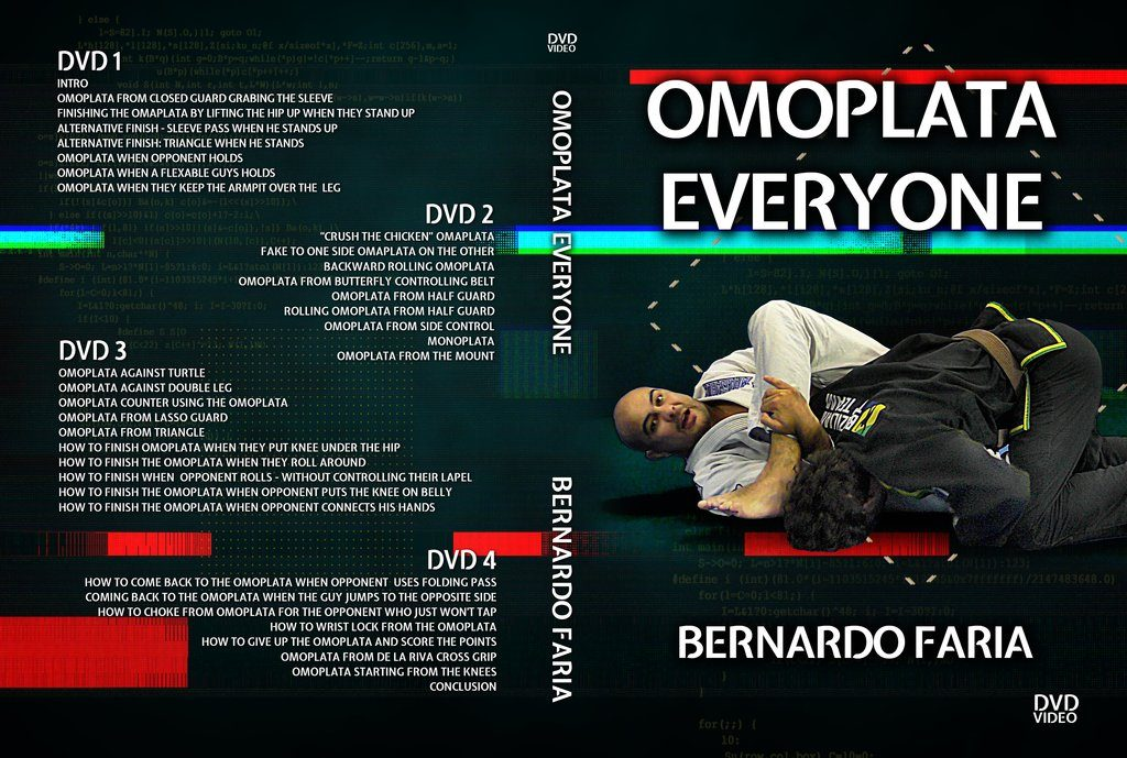 DVDwrap Bernardo Omoplata af3e5b13 dec7 4aba 8ea8 32b1e720a3af 1024x1024 1024x689 - BJJ Cyber Monday: Best BJJ Deals For DVD Instructionals!