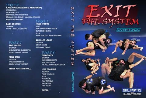 Exit The System Gary Tonon DVD Back Cover
