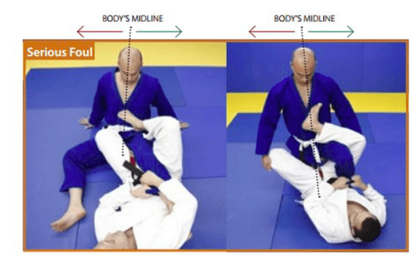 IBJJF reaping rule - Knee Reaping Explained: Staying Within Legal Boundaries