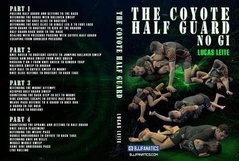 Lucas Leite   The Coyote Half Guard new large - BJJ Cyber Monday: Best BJJ Deals For DVD Instructionals!