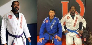 Jones Jones promoted to Purple Belt in BJJ