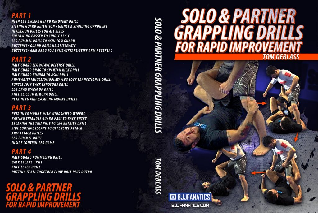 Tom DeBlass Grappling Drills Cover 1800x1800 1024x688 - BJJ Cyber Monday: Best BJJ Deals For DVD Instructionals!
