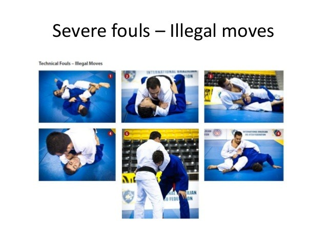 Illegal BJJ Moves To Get You DQed