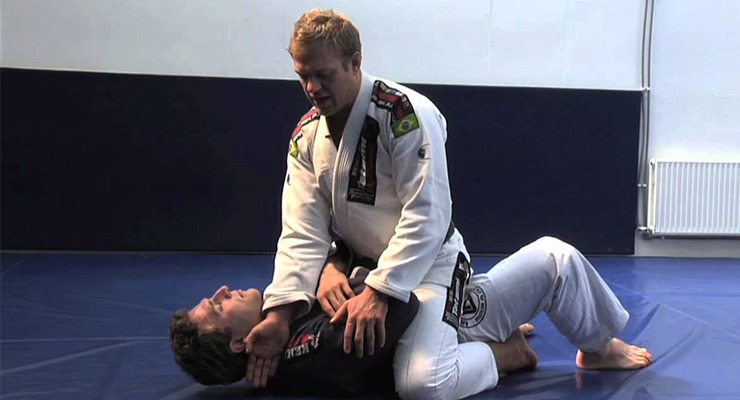 Middle Mount BJJ Position Attacks