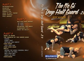 Jeff Glover DVD Review: The No-Gi Deep Half Guard 2.0
