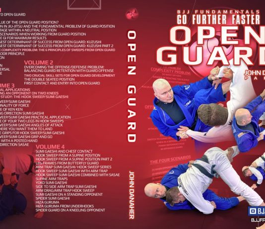 Danaher Open Guard BJJ Fundamentals DVD Review Cover