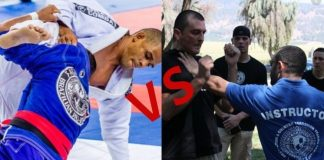 BJJ vs Krav Maga for Self Defense