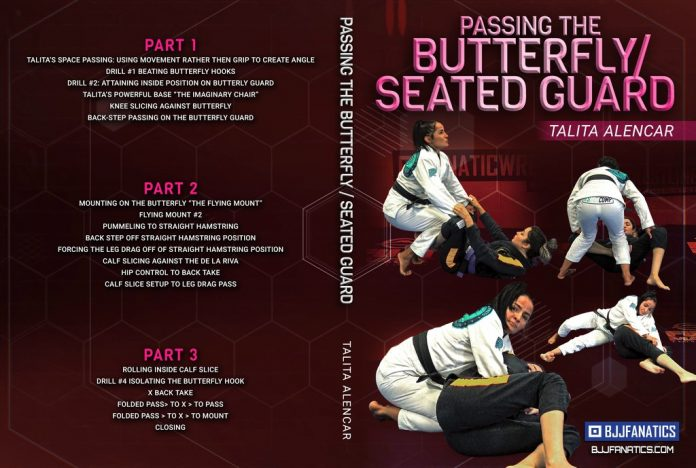 Passing Butterfly Guard Talita Alencar DVD Review
