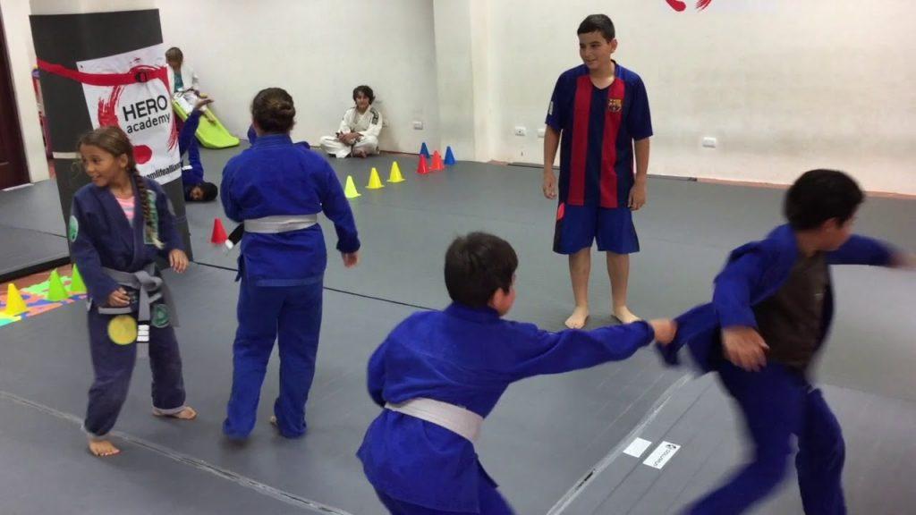 Kids Brazilian Jiu-Jitsu Fun Games
