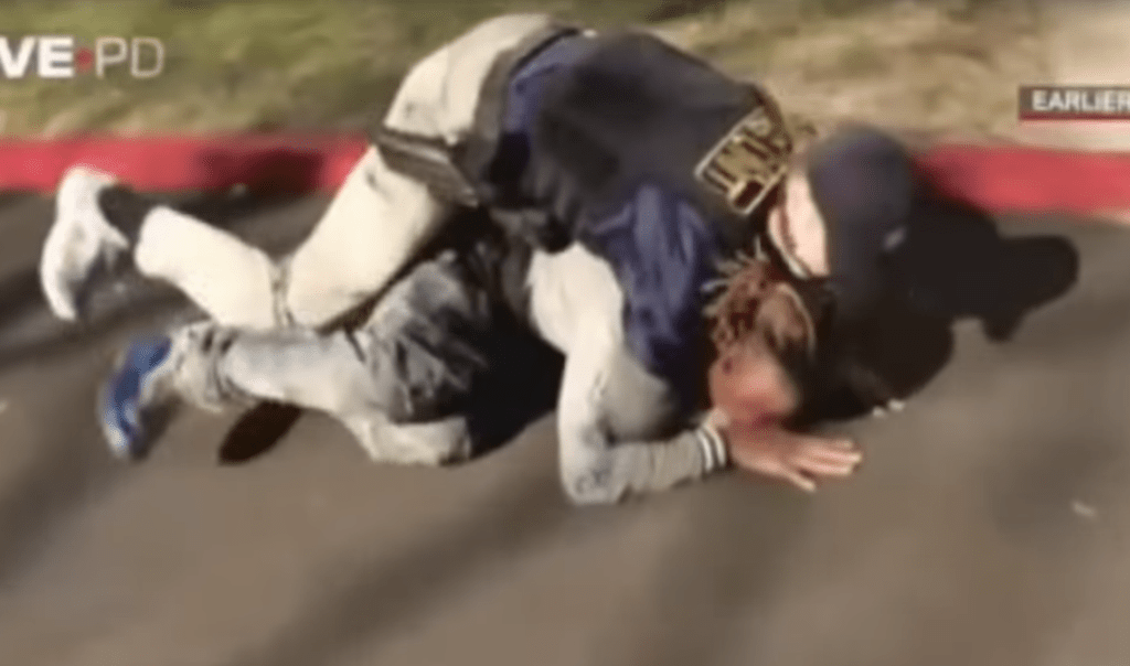 police officer jiu jitsu 1024x1024 - Why BJJ For Police Officers Should Be Mandatory