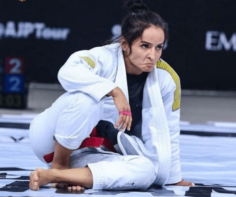Talita Alencar DVD Review: Passing butterfly guard