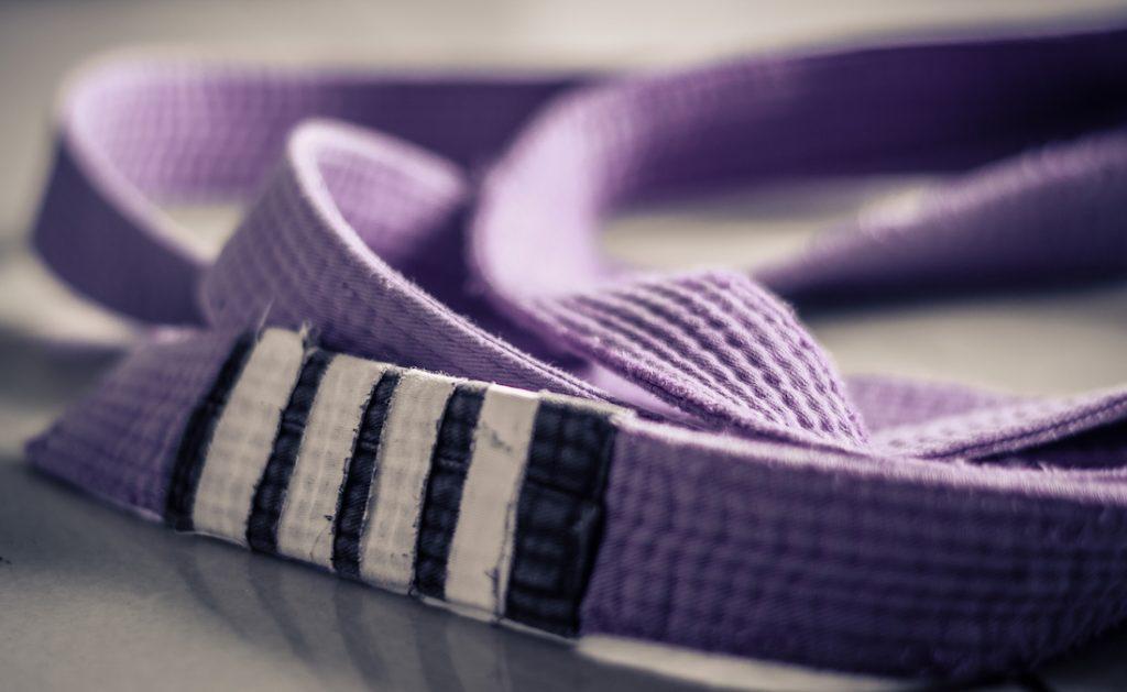 BJJ belt purple belt 1024x629 - Jiu-Jitsu Belt Order Аnd What Every Belt Means