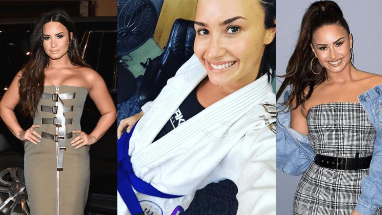 Celebrities Who Train BJJ Demi Lovato