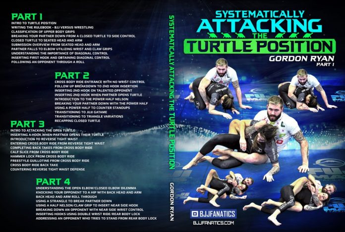 Systematically Attacking The Turtle Gordon Ryan DVD Review