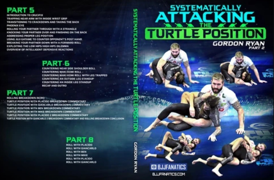 Ryan 2 - Systematically Attacking The Turtle Gordon Ryan DVD Review