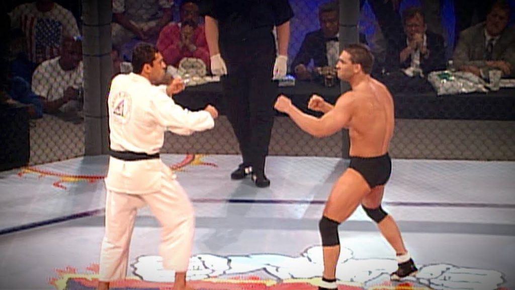 UFC 1 Royce Gracie vs Ken Shamrock 1024x576 - The Gracie Challenge Fights: Decoding BJJ History