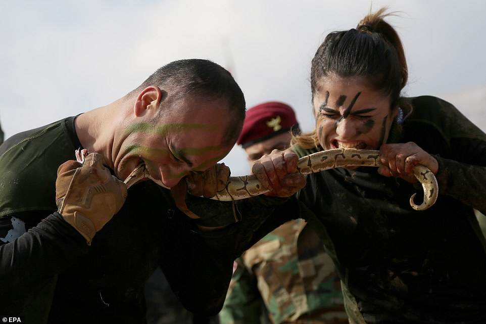 24657864 0 image a 12 1581528134880 - Featured Women Fighters: The Peshmerga Kurdish Modern Warriors