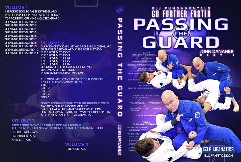 GUARD PASSING Cover 1 2cbd40af ba8a 4ede 91c0 365706f1076f 1024x1024 - Passing The Guard Danaher DVD Instructional – Detailed Review
