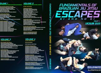 Lachlan Giles DVD Review: Fundamentals Of BJJ Escapes Gi And No-Gi