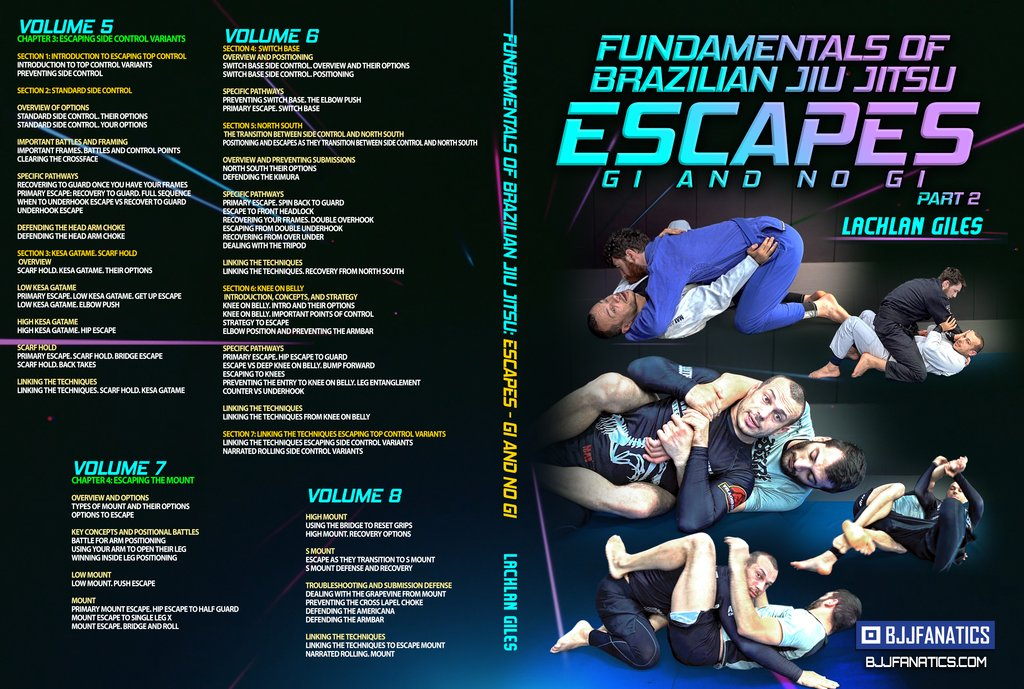 Lachlan Giles Cover part 2 1024x1024 - Lachlan Giles DVD Review: Fundamentals Of BJJ Escapes Gi And No-Gi