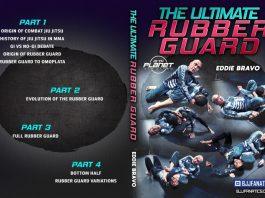 Eddie Bravo DVD Ultimate Rubber Guard Cover