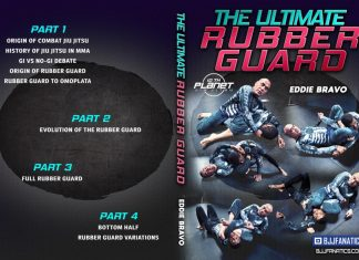Eddie Bravo DVD Ultimate Rubber Guard Cover