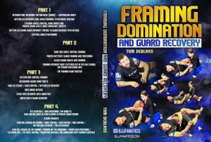 TomDeBlass FramingDomination Cover 1024x1024 300x202 - Tom DeBlass Instructional DVD Review: Framing Domination And Guard Recovery