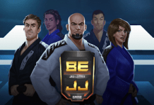 BJJ Video game cover