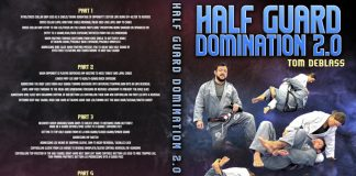 Tom DeBlass Instructional DVD Review: Half Guard Domination 2.0 Cover