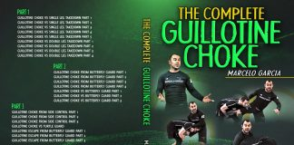 Marcelo Garcia Guillotine Choke DVD Review Cover