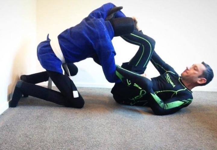 dummy 1 - How To Train BJJ With A Grappling Dummy