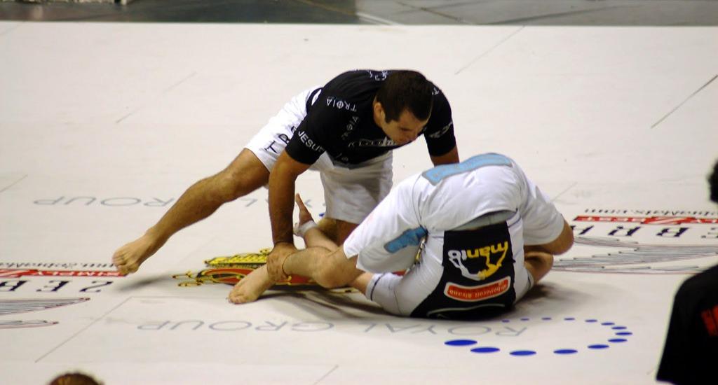 Inverted Guard - Key Steps To A Better Guard In Jiu-Jitsu