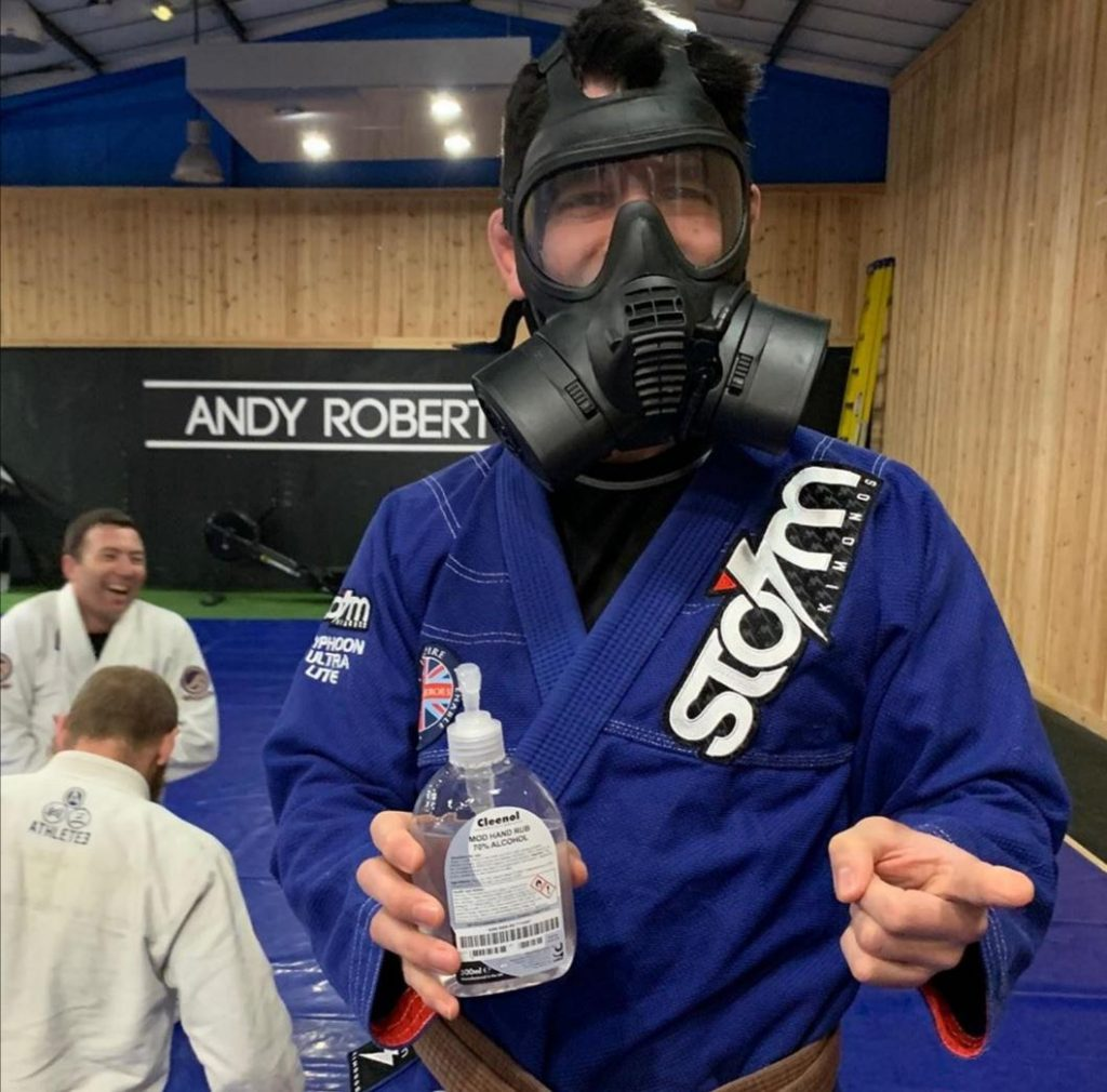 Intro to BJJ fo nrew students during the pandemic