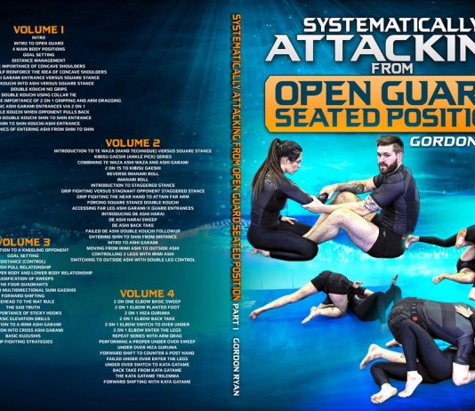 Gordon Ryan Seated Guard Review: Systematically Attacking From Open Guard DVD