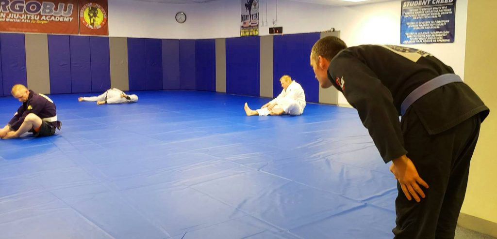 BJJ Traditions - Oss an Bow
