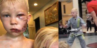 Bridger Walker 6-year-old BJJ Practitioner Hero Brother